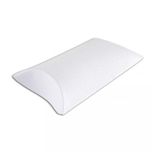 6 Mini Pochettes Blanches (10 cm) à décorer - Carton Blanc