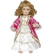 Robe de Poupée Marie Antoinette