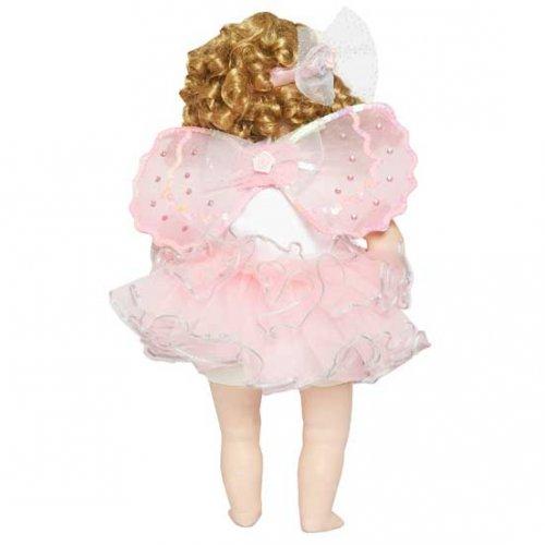 Robe de Poupée Fée Rose Luxe