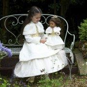 Robe de Poup�e Princesse Hiver