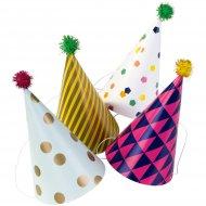 4 Chapeaux Pompoms Party Time