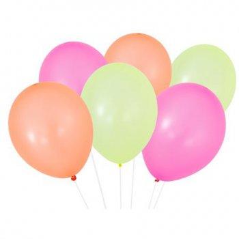 12 Ballons et Ruban Party Time