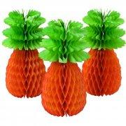 3 Grands Ananas 3D Jungle Fiesta (30 cm)