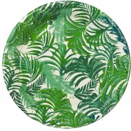 12 Assiettes Jungle Fiesta