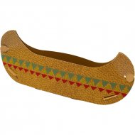 6 Party Snacks Canoes Pow Wow (21 cm)