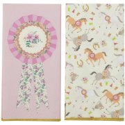 20 Serviettes 2 mod�les Pony Party