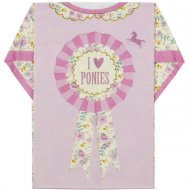 8 Serviettes T-shirt Pony Party
