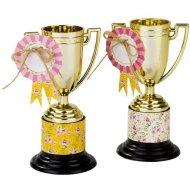 6 Trophées et médaillons Pony Party