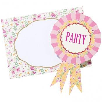 12 Invitations Pony Party