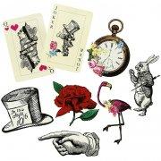 8 Décorations Géantes Délicieuse Alice