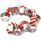 100 Bandes pour Guirlande papier P�re No�l Santa