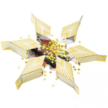 6 Crackers Etoile Or