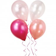 10 ballons Mademoiselle Rose