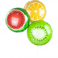 3 ballons Fruits Exotic Summer