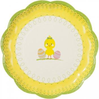 12 assiettes Pâques Tendresse