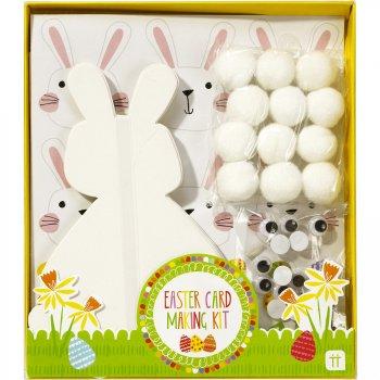 Kit Créatif 12 cartes Lapin de Pâques