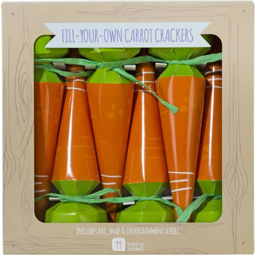 6 Crackers Carottes à garnir