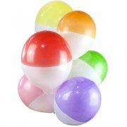 12 Ballons bi-couleurs