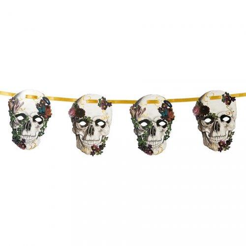 Guirlande Fête des Morts Baroque (2,5 m) - Carton