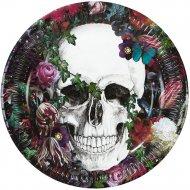 8 Assiettes Fête des Morts Baroque