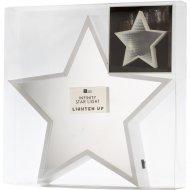 Etoile Lumineuse Miroir Infinity (29 cm)