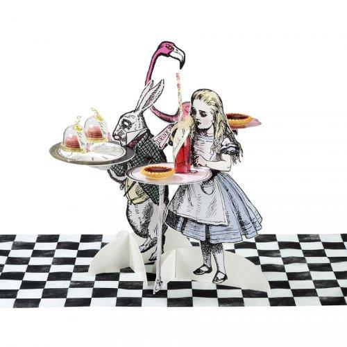 3 Présentoirs Gourmands Délicieuse Alice
