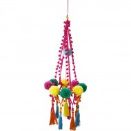 Suspension Chandelier Gros Pompons Latina