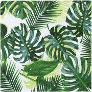 20 Petites Serviettes Tropique Jungle