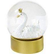 Grande Boule à Neige Cygne Royal (12 cm)