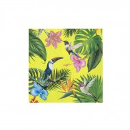 20 Serviettes Tropical Birds