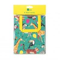 Contient : 1 x 8 Pochettes Cadeaux Jungle Fun
