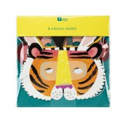 8 Masques Animaux Jungle Fun
