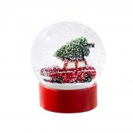 Grande Boule à Neige Voiture de Noël (12 cm)