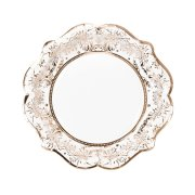 12 Assiettes Elégance Rose Gold