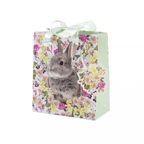 3 Sacs Cadeaux Lapin Romance (17 cm)
