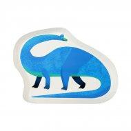 12 Assiettes Funny Dino