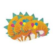 16 Serviettes Funny Dino