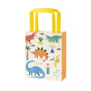 8 Sacs Cadeaux Dino Colors - Recyclable