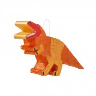 Mini Pinata Dino Orange (36 cm)