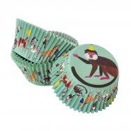 30 Caissettes à Cupcakes Jungle Fun