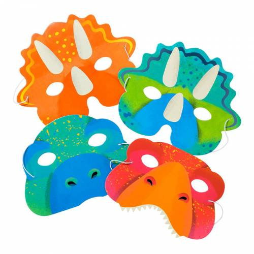 8 Masques - Dinosaure
