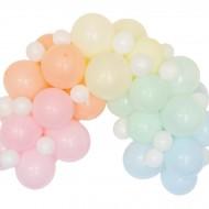 Kit Arche de 60 Ballons Pastel