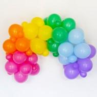 Kit Arche de 60 Ballons Rainbow