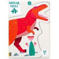 Puzzle Dino Tyrannosaure