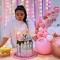 Bougie Happy Birthday Pastel (10 cm) images:#4
