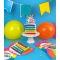 Bougie Happy Birthday Rainbow (10 cm) images:#1