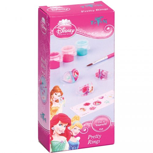 Mini Kit Créatif Bagues Princesses Disney