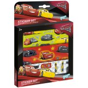 Set Multi Stickers Cars 3
