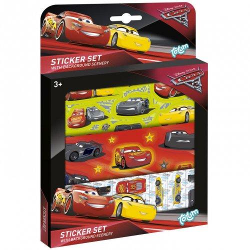Set Multi Stickers Cars 3