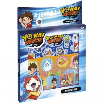 Set Multi Stickers Yo Kai Watch